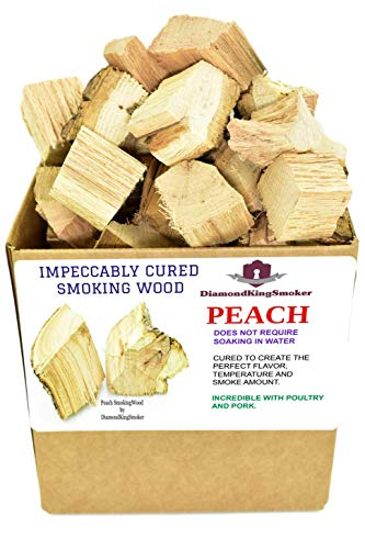 DiamondKingSmoker Smoking Wood Chunks 100% All Natural Barbecue Smoker Chunks for Grilling and BBQ |...