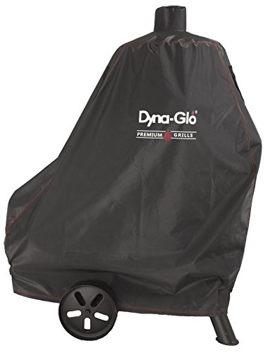 Dyna-Glo DG1382CSC Vertical Offset Charcoal Smoker Grill Cover, Fits Size Up to: 46' W x 25' D x 60'...