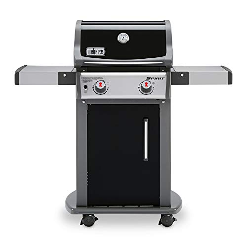 Weber 46110001 Spirit E-210 Gas Grill | Liquid Propane, 2-Burner | Black