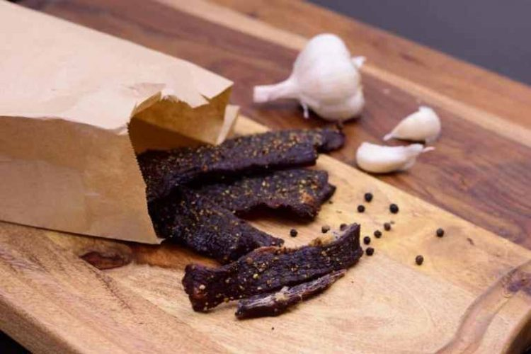 Beef Jerky Recipe in a Smoker