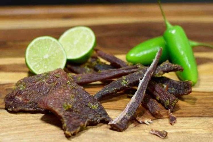 Jalapeno Lime Beef Jerky