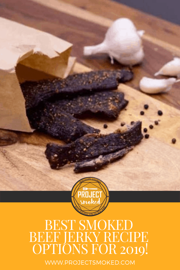 Project Smoked Beef Jerky