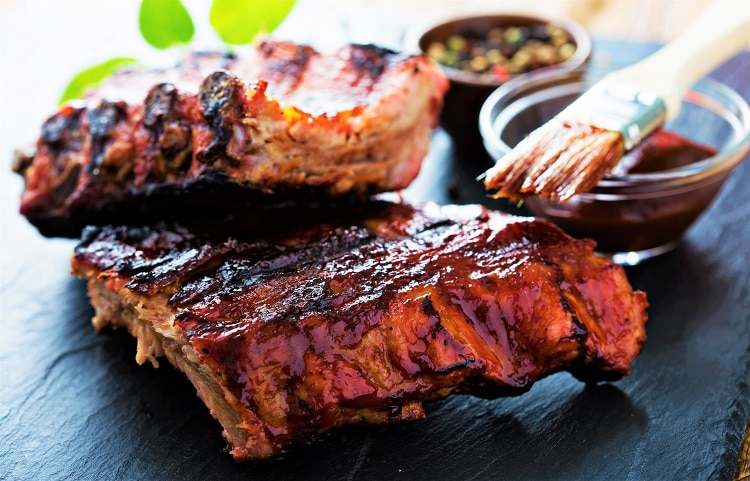 9 Different Types of Ribs - Grilled Baby Pork Ribs