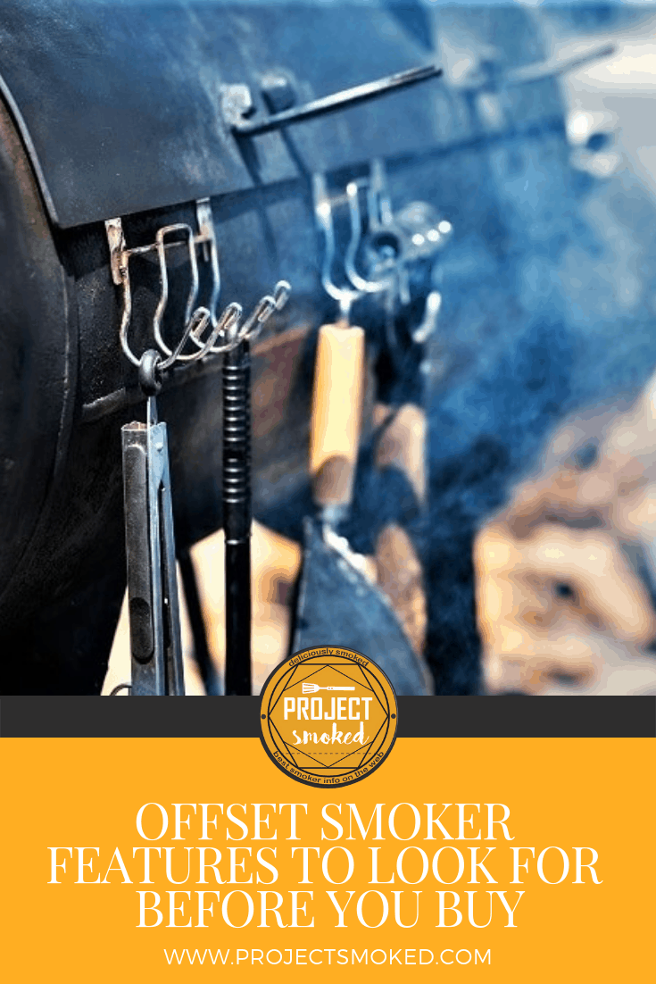 Project Smoked Offset Smoker Features