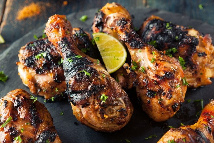 Spicy Grilled Jerk Chicken - Best Smoked Food from around the world