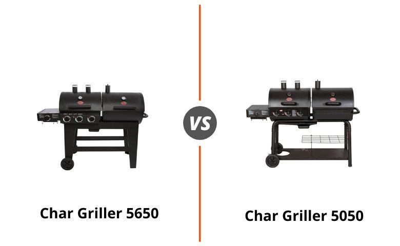 Char Griller 5650 vs 5050