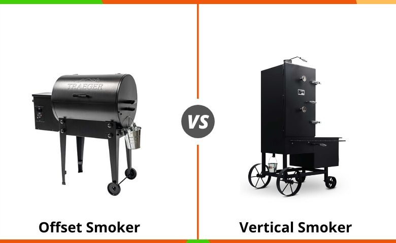 Offset Smoker vs Vertical Smoker