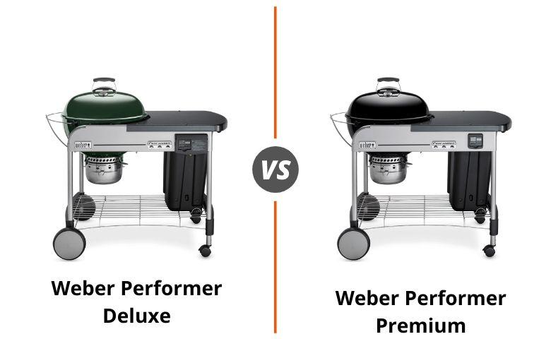 Weber Performer Deluxe vs Premium