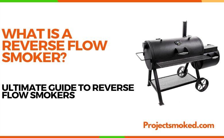 reverse flow offset smoker
